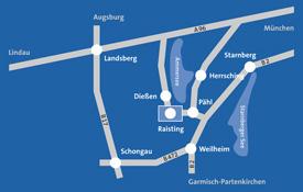 DARCO - Anfahrtsskizze Regional