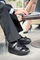 Diabetikerschuhe bei Druckstellen am Fuß