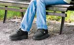 Diabetes Druckentlastung Fuß, Ferse bei Ulcera, Ulcus, Ulzeration, offene Wunde