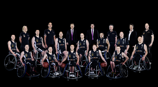 DARCO unterstützt die Deutsche Rollstuhlbasketball-Nationalmannschaft der Herren