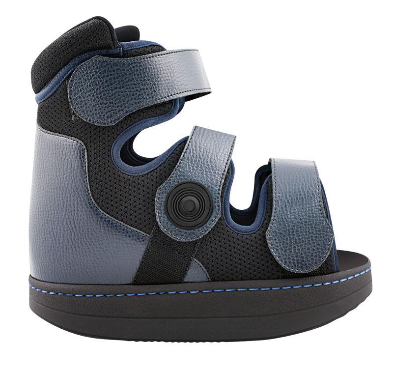 Hoher Verbandschuh bei Diabetes Schuh zur Stoßdämpfung