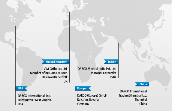 DARCO Worldwide: USA, Europe, United Kingdom, China, India