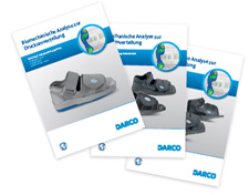 Biomechanische Analysen zur Druckumverteilung bei DARCO Schuhen