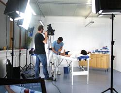 Filmteam bei DARCO