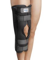 MECRON Knee 3-part - 3-teilige Universal Knieschiene zur Ruhigstellung des Knies