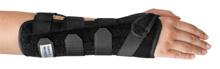 Bei chronischen Reizzuständen im Handgelenk, rheumatischen Beschwerden, Arthralgien, etc. - Die MECRON Wrist Guard Handgelenk-Unterarmschiene